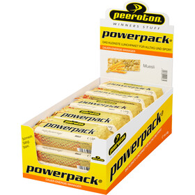 Peeroton Powerpack Oatmeal Bar Box 15 x 70g, Muesli